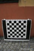 Zománc oktató sakk tábla