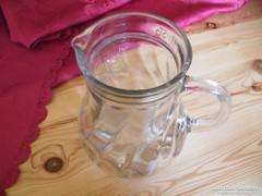 Üveg kancsó 18 x 8 cm