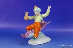 0I061 Kispesti Aladdin porcelán figura