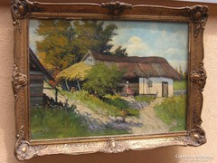 Festmény   olaj vászon