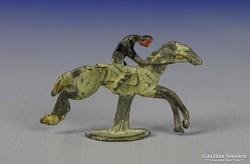 0I127 Régi lovas ólom figura