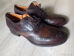 Luxus Vintage férfi bőrcipő Francesco Benigno / Italy