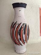 Gorka Lívia jelzett váza - signed ceramic vase (NSZT)