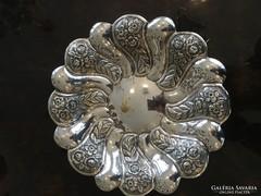 925 Ezüst Gyümölcskínáló Tál