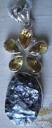 925 ezüst medál cirinekkel és szilikonnal