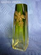 Csiszolt üveg váza 604017/2