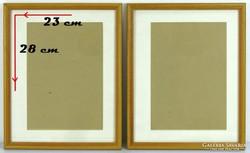 0I054 Szép grafika keret csomag 2 darab 28 x 23 cm