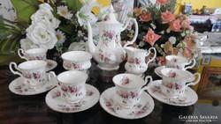 Csodálatos  Royal Albert Lavender Roses kávés készlet