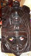 Guatemalából származó faragott maszk 3