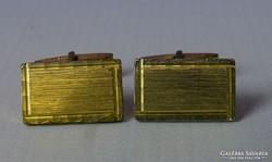 0I124 Aranyszínű mandzsetta pár