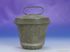 0I505 Antik cukrászati eszköz kuglóf sütő forma