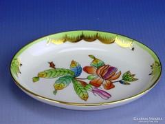 0I611 Viktória mintás Herendi porcelán hamutál