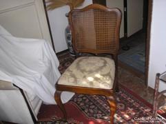 3 drb Warrings étkezőasztal szék