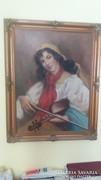 Cinka Panna - Antik festmény