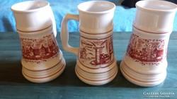 Alföldi porcelán (3 korsó)