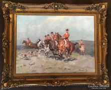 Viski János festmény