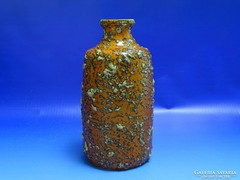 0I618 Retro TÓFEJ iparművészeti kerámia váza 21 cm