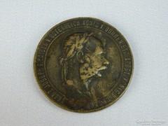 0H228 Ferencz József 1873 bronz emlékérem