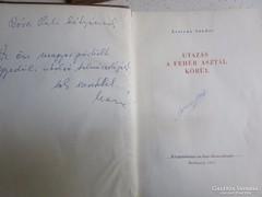 LESTYÁN: UTAZÁS A FEHÉR ASZTAL KÖRÜL DEDIKÁLT 1955