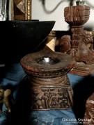 Tibeti antik gyertya tartó