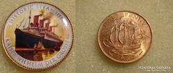 Hajós emlék 1/2 penny  1967   8db