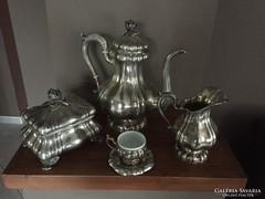Nagyon szép ezüst kávéskészlet - hiánytalan