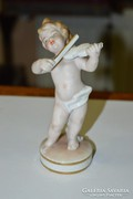Német porcelán kisfiú figura