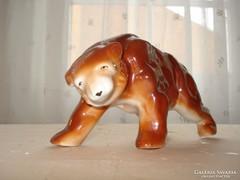 Porcelán barnamedve