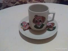 Bavaria Winterling kávés csésze kistányéral