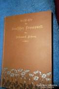 Antik gótbetűs könyv-1898
