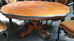 Gyönyörű barokk faragott asztal !