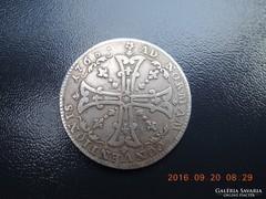 Frankfurt 20 kreuzer 1763IOT  VF gyűjteményből ritka!!