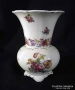 Q618 Régi Bavaria porcelán váza
