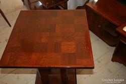 Art deco tölgy asztal