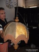Antik papiruszos 3 izzós csillár eladó!
