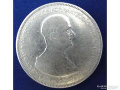 7265 Horthy ezüst 5 pengő 1930 BERÁN 25g