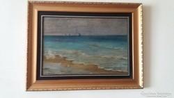 Szikszay Ferenc festménye szép keretben