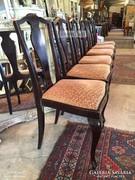 Antik bútor, 6db Chippendale székek.