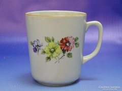 0I582 Régi Zsolnay porcelán kávés bögre
