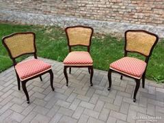 Antik neobarokk székek !