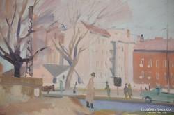 Koncz Béla (1925-2002): A régi Váci út