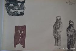 Bálint Endre (1914-1986): Figurák, maszkok