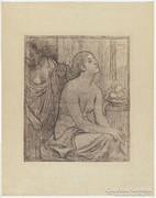 Pierre Puvis de Chavannes (1824-1898): La toilette