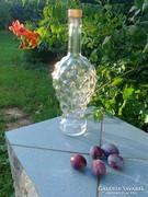 Kínáló üveg 2db