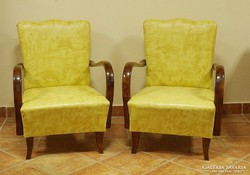 Art-Deco fotel párban , felújítva