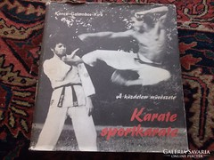 Akció ! Karate -Koncz,Galambos,Kira Ságvári Könyv. 1982