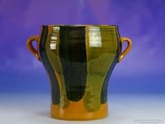 0I767 Retro iparművészeti kerámia váza