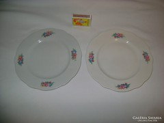Régi Zsolnay süteményes tányér - két darab - hiánypótlásra