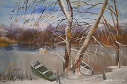 Papp Tünde (1978-): Tisza part délben