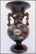 Badár ? 2 füles régi kerámia váza